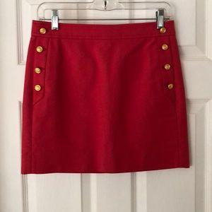 J Crew Size 0 Skirt